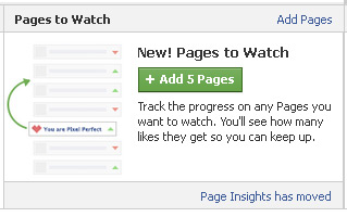 Pages to watch ... FAcebook